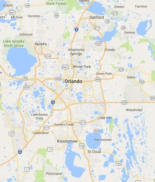 Orlando, Florida area