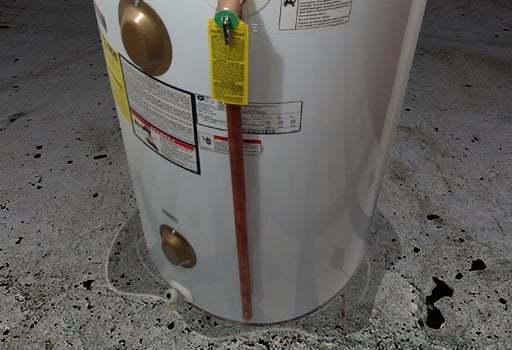 Problem: Leaking Water Heater - Rainaldi Home Services